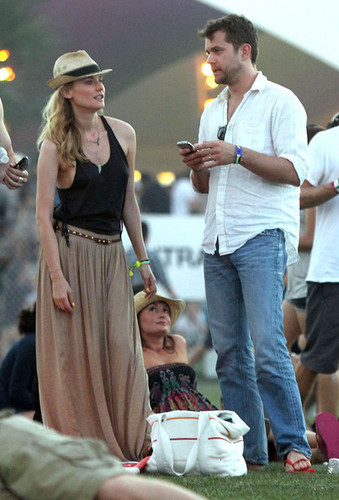 At The 2011 Coachella Musica Festival With Josh