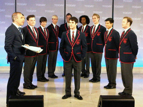Darren Criss and The Warblers