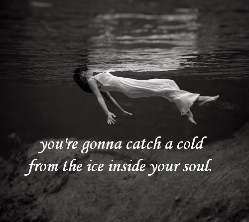 You're gonna catch a cold