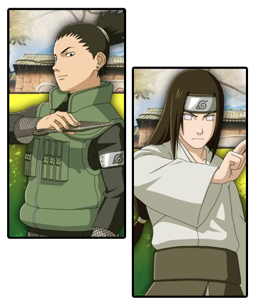 shikamaru and neji