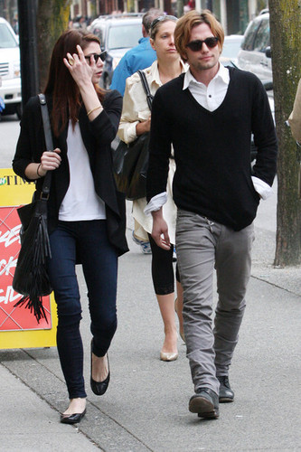 Ashley Greene spends time with her on-screen 'Twilight' boyfriend, Jackson Rathbone