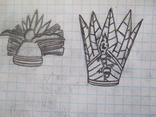 King Julien's crowns