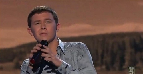 "Scotty sings ""The River"" by Garth Brooks"