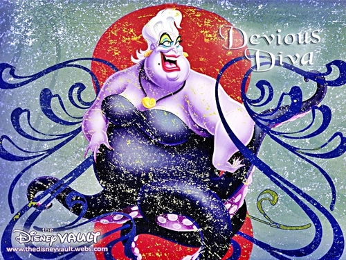Walt disney wallpaper - Ursula