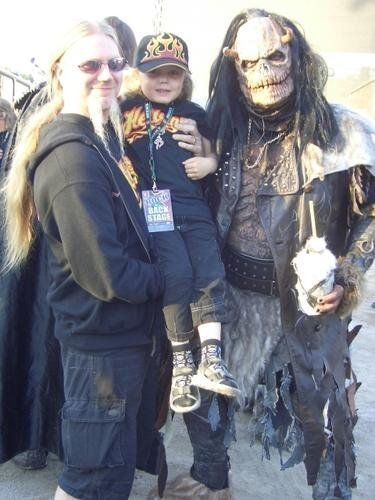 marco hietala with his son