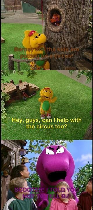 Funny Barney comic! - Tigressfan10689 Fan Art (21306179 ...