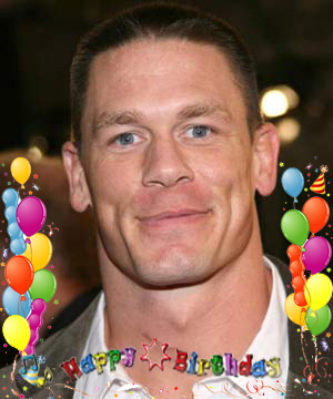 Happy Birthday John Cena