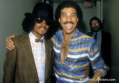 MICHAEL JACKSON AND LIONEL RICHIE