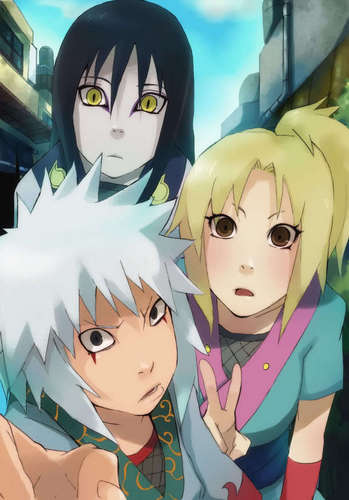 Orochimaru , Tsunade and Jiraya