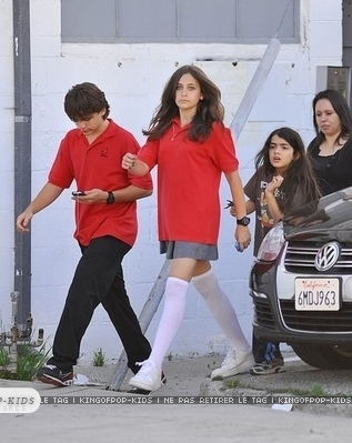 Paris,Prince and Blanket after Schauspielen class