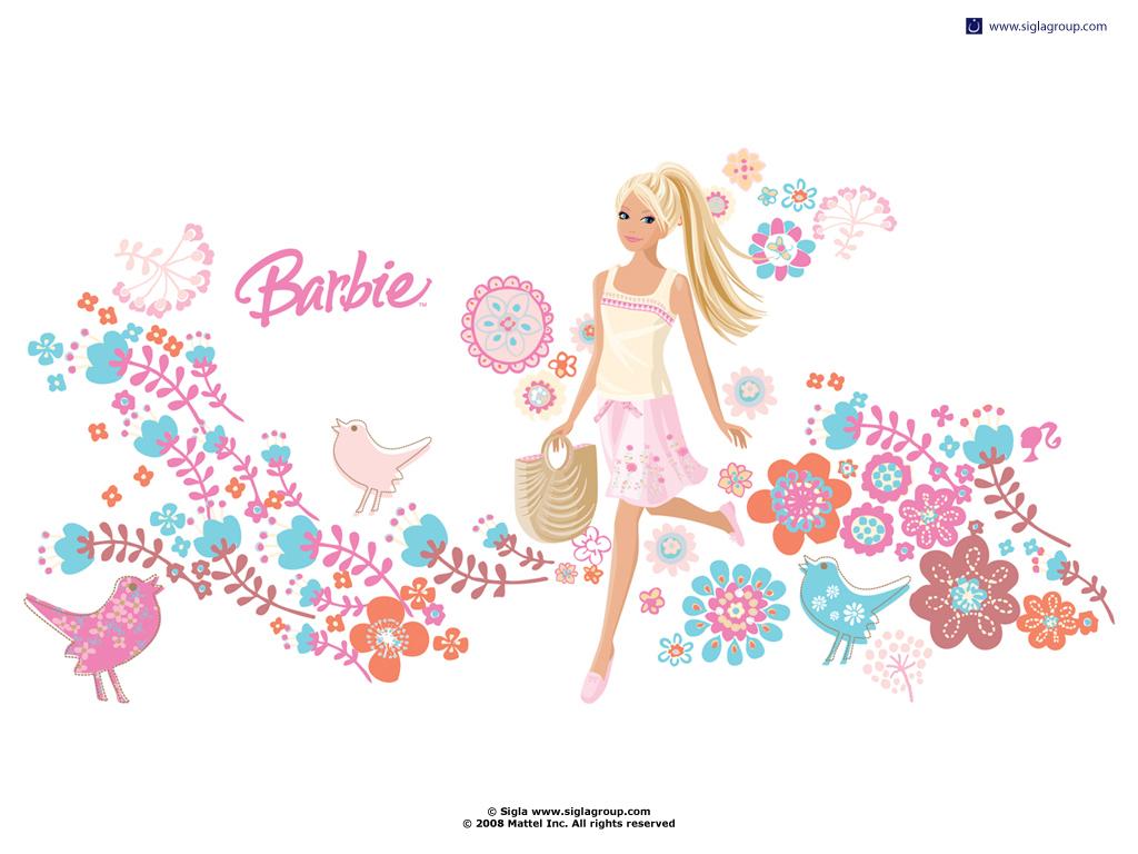 フローラル キュートポップ バービー人形 Barbie Pcデスクトップ