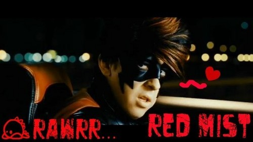 Christopher as Red Mist