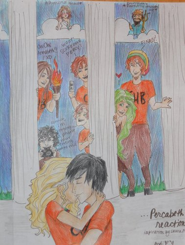 Percabeth reactions