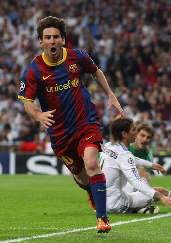 UEFA Champions League Semi Final: Real Madrid v Barcelona (First Leg)