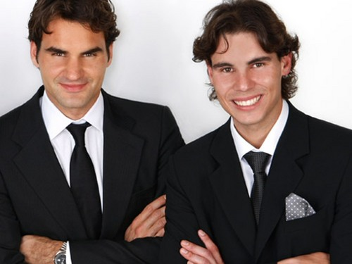 rafa and roger as brothers