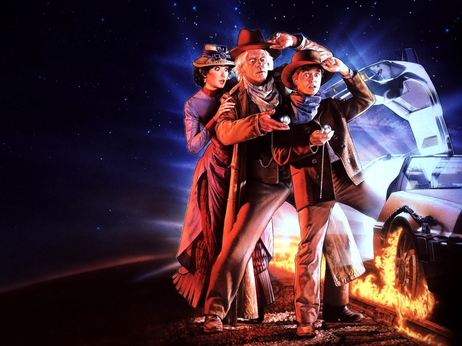 Back To The Future Part Iii Back To The Future Wallpaper