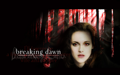 Breaking Dawn wallpaper