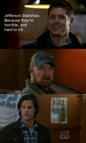 Dean names them Jefferson Starships XD