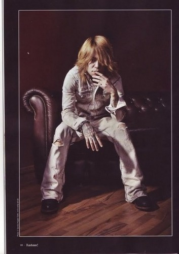 Dir en grey 2009 photoshoot - Kyo