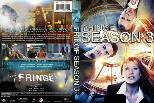 Fringe Season 3 custom DVD cover