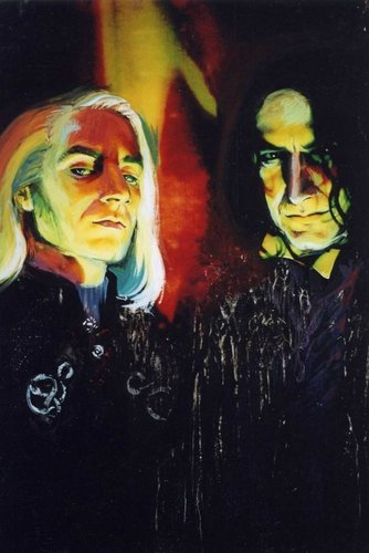 Lucius and Snape: Deatheaters