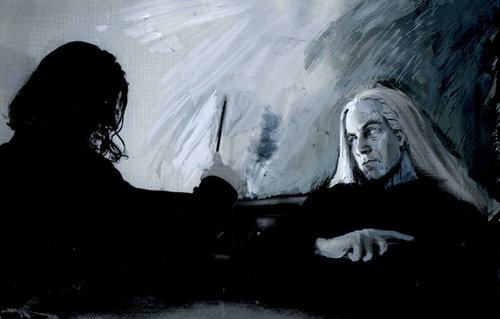 Lucius and Snape: Duel2