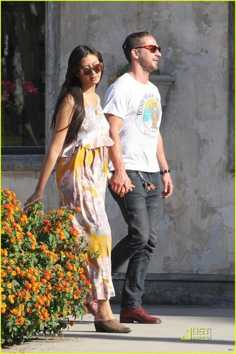Shia & Karolyn out in Studio City