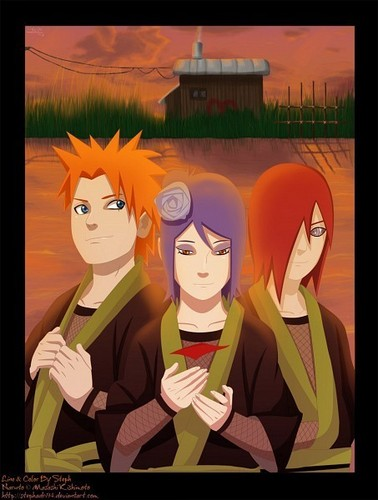 Yahiko , Nagato and Konan team