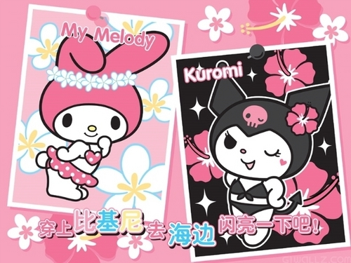 Onegai My Melody images Bathing Suits :P wallpaper and ...