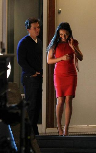 "Mila on set ""Ted"""