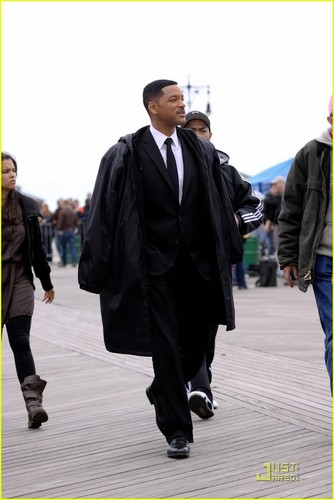 Will Smith: Men in Black on Coney Island