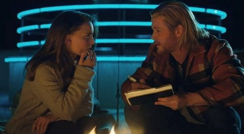 thor and jane <3
