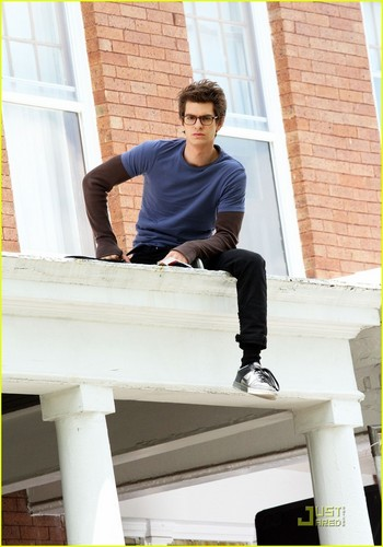 Andrew Garfield: On Set with Spidey!