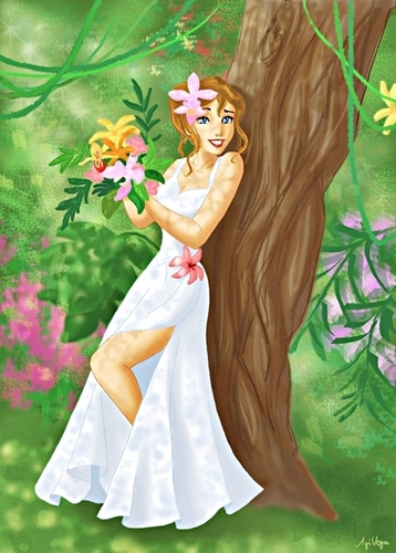 Jane Porter, the Bride