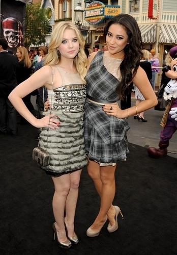 Shay Mitchell and Ashley Benson