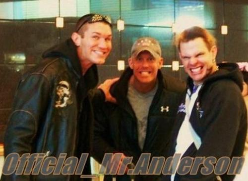 randy orton,mr kennedy/anderson and jeff hardy
