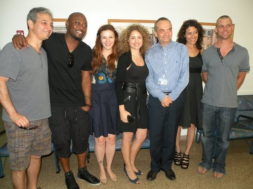 The House cast visiting hospital in Israel May 2011