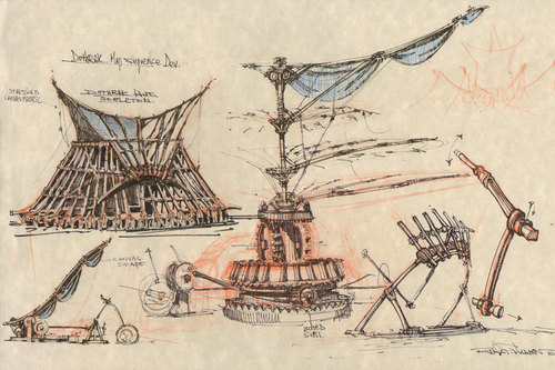 Vaes Dothrak sketches