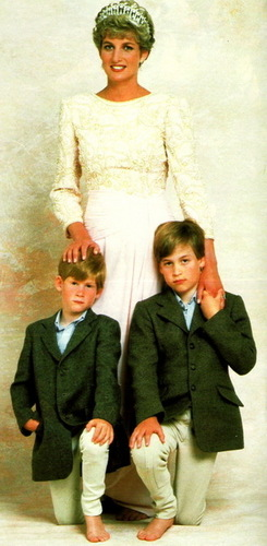 diana and her sons