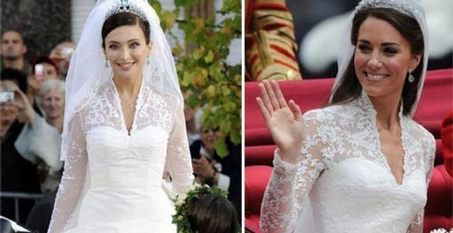 kate middleton wedding dress _likeIsabella Orsini weddingdress's(September 5, 2009 )