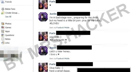 PROVE!!!!!!! JUSTIN BIEBER DATING WITH PARIS JACKSON !!!!!