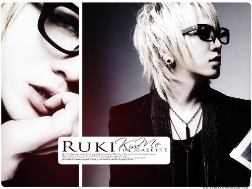 Ruki in spectacles