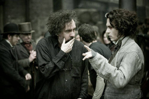 Tim burton & Johnny Depp