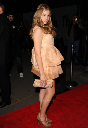 Chloe Moretz attends Cleopatra: Northern Ballet Press Night in London.