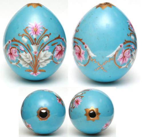 Floral touch Easter Egg adornment