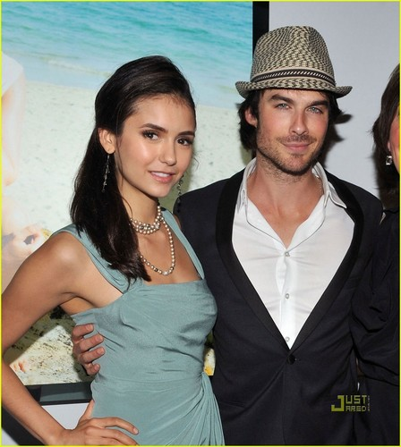 Ian Somerhalder & Nina Dobrev: World Ocean Day!