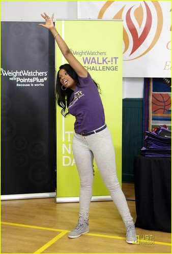 Jennifer Hudson: Walk-It Challenge