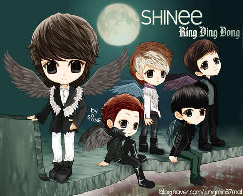 SHINee cartoon