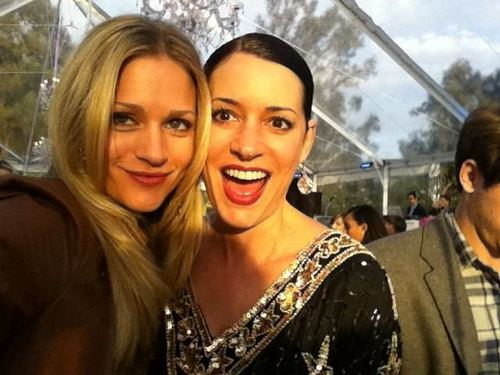 AJ Cook and Paget Brewster