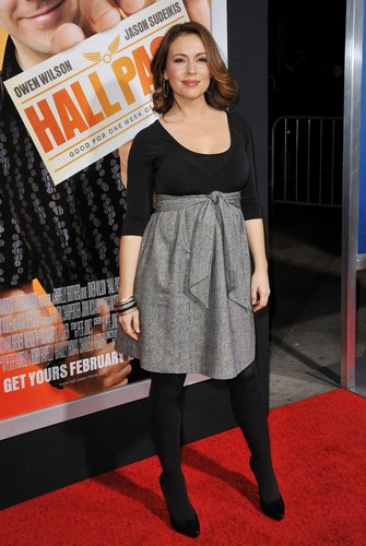 Alyssa Milano - Hall Pass, Los Angeles Premiere - February 23. 2011